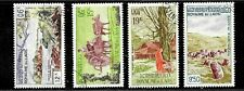 HICK GIRL- BEAUTIFUL USED LAOS STAMP   SC#C35-38  1960 ISSUES        E1025