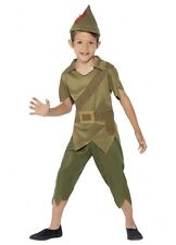Robin Hood Costume Child 3 Sizes Works for Peter Pan Fancy Dress Bookweek Boys