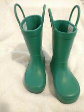 TargetToddler Rain Boots Unisex Green  Size 7/8 M