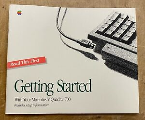 Apple Getting Started With Your Macintosh Quadra 700 P/N: 030-3583-A