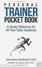 Personal Trainer Pocket Bodybuilding Muscle Fitness Shredded Book Health Weight