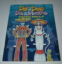 2009 Day of the Dead Dia de los Muertos Paper Dolls - Tom Tierney Dover Uncut