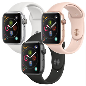 Apple Watch Series 4 40mm 44mm GPS Aluminum Space Gray Silver Gold Smartwatch