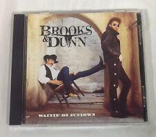 Brooks & Dunn Waiting On Sundown CD 1994 (Arista Records)
