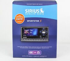 Sirius Satellite Radio Sportster Sp5 Receiver, Power Adapter, Mount