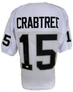 Michael Crabtree Signed Raiders Jersey (JSA COA) #10 Overall Pck 2009 NFL Draft