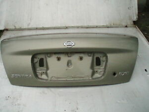 2000 - 2006 NISSAN SENTRA TRUNK LID PANEL ONLY WITHOUT SPOILER PAINT CODE CV2