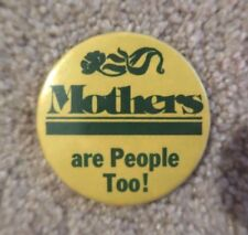 RARE vintage Mothers are People Too small mini mirror FREE SHIP mom mommy day