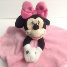 Disney Baby Minnie Mouse Pink Security Blanket Lovey