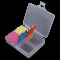 Portable Mini 4Grid Pill Box Medicine Storage Dispenser Container Travel Case 6A