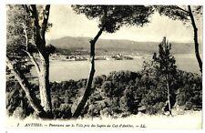 CPA 06 Alpes-Maritimes Antibes Panorama sur la Ville pris du Cap d'Antibes
