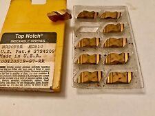 Kennametal Carbide Inserts - NR3078R KC810 - Qty. 10 NEW!