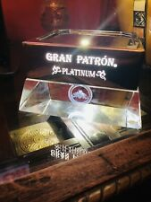 Grand Patron Tequila Bar Diplay With Light