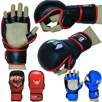BOOM PRO MMA Sparring Gloves Muay Thai Kick Boxing Punch Bag Training