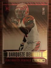 2014 ROOKIES AND STARS LONGEVITY GOLD PARALLEL #125 DARQUEZE DENNARD BENGALS /49