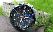 CASIO EDIFICE Men's Quartz Watch Stainless Steel Strap