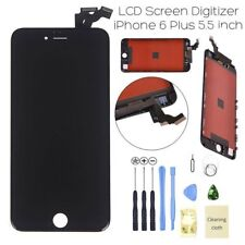 """For Black iPhone 6 Plus 5.5"""" LCD Touch Lens Screen Digitizer Replacement UK"""
