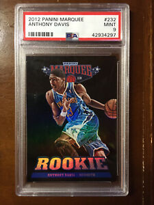 2012 Panini Marquee Anthony Davis Rookie Card. RC. PSA MINT 9
