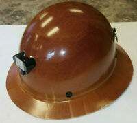 "Skullgard ""Butte"" Full Brim Hard Hat w/ Lamp Bracket and Cord Holder -MSA460389"