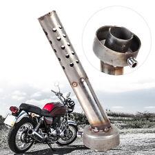 Dia 48mm Motorcycle Angled DB Killer Bend Muffler Baffle Exhaust Silencer L190mm