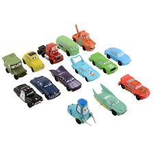14Pcs Figures Lightning McQueen Sally Guido Mack Toy set Ramone Kids Gift