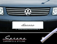 VW Passat B5 Type 3B and Variant Chrome Trim for Radiator Grill Upper 3M