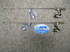 "2PK 13 FISHING MICROTEC 27"" ULTRA LIGHT ICE FISHING COMBO'S W/ SPRING BOBBER"