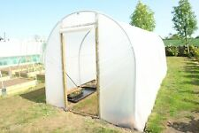 10ft x 15ft Polytunnel Frame w/ Polythene and Foundations | Northern Polytunnels