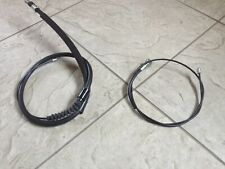 VAUXHALL CORSA B 93-00 TWO REAR HAND BRAKE CABLES RH AND LH