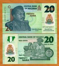 Nigeria, 20 naira, 2021, P-New, POLYMER, UNC