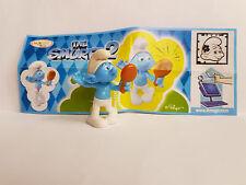 Figurine Kinder série Schtroumpfs 2 Schtroumpf Coquet MPG FT125 avec bpz