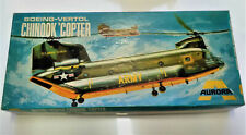 Vintage & very rare 1969 1/48 Aurora Boeing-Vertol CHINOOK 'Copter model kit