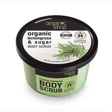Organic Shop Body Scrub Natural Provence Lemongrass and Sugar 250ml