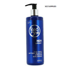 Red One After Shave Cream Lotion 500ml - Sport (Blue) Amazing Fragrances
