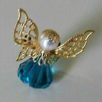 Vintage Angel Pin Brooch