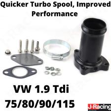 EGR Valve Delete Kit VW 1.9 TDI 75 80 90 115 BHP Performance Race Pipe