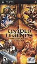Untold Legends: Brotherhood of the Blade (Sony PSP, 2005) PSP FACTORY SEALED NEW