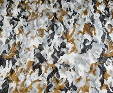 Hide Net Snow Camo 2 Ply 4 x 1.5m  Wildfowling Pigeon Shooting