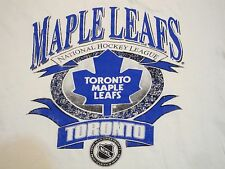 Vintage NHL Toronto Maple Leafs Hockey League Canada Canadian T Shirt XL