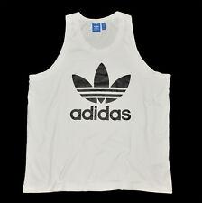 ADIDAS ORIGINALS Men's Herren White ORGANIC Cotton T-Shirt Top FIRBIRD !  size L