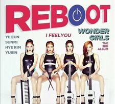 KPOP : WONDERGIRLS ; REBOOT; I FEEL YOU [ ALBUM + CD + PHOTO CARD ] US SELLER