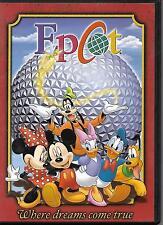 """Epcot"".""W here Dreams Come True"".Disney Theme Park Souvenir Dvd"