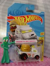 BUNS OF STEEL #237✰white;burger;fries✰FAST FOODIE✰2018 i Hot Wheels WW CASE K/L