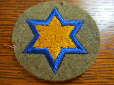 WW2 ORIGINAL WWII MILITARY PATCH - US ARMY - 66TH CAVALRY DIVISION - FELT