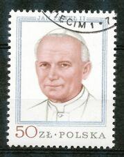 Polen 2632 gestempeld (2) paus Johannes Paulus II