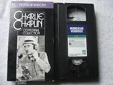 Charlie Chaplin Monsieur Verdoux Centennial Collection VHS 1992 VHS Video Preown