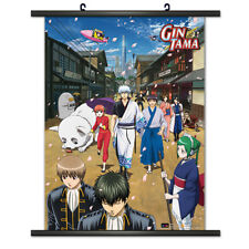 Gintama Group Wall Scroll Poster NEW