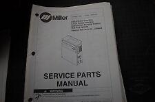 Miller Welder ASEA ROBOT INTERFACE Owner Parts Manual book catalog list spare