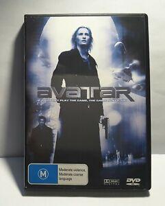 Avatar DVD aka Cyber Wars & Avatar Exile &  Matrix Hunter RARE OOP Movie