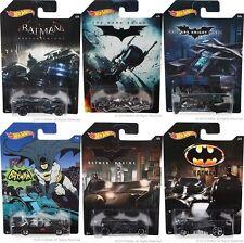 Batman Series ~ 2015 Hot Wheels Complete 6 Car Set * Limted Edition Walmart F1